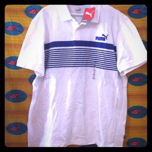 Mens Puma Polo Shirt